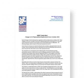 AHEC Trade Alert