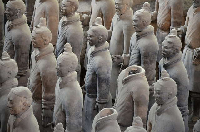Terracotta Army Soldiers