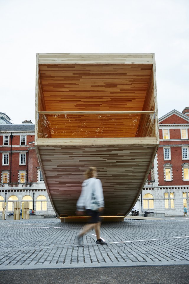 The Tulipwood Smile at London Design Festival
