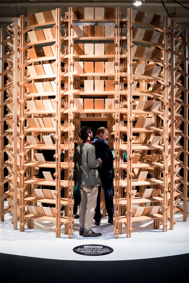 Rotunda Serotina AHEC American Hardwood Export Council ARCHITECT@WORK Architect at Work Kolman Boye