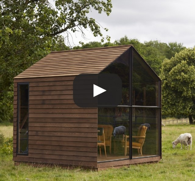 'Paul's Shed' by Nathalie de Leval with Paul Smith, The Wish List, LDF 2014